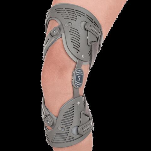 Custom osteoarthritis knee brace